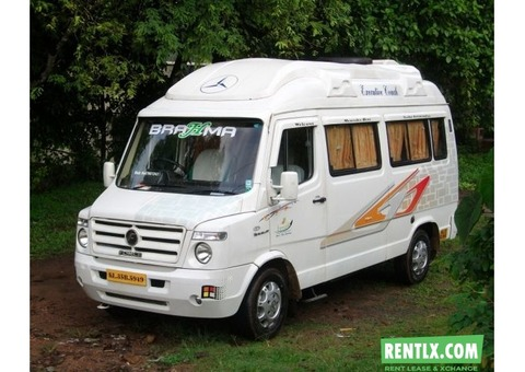 Tempo Traveller Hire on Rent