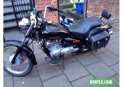 Yamaha Bike on Rent