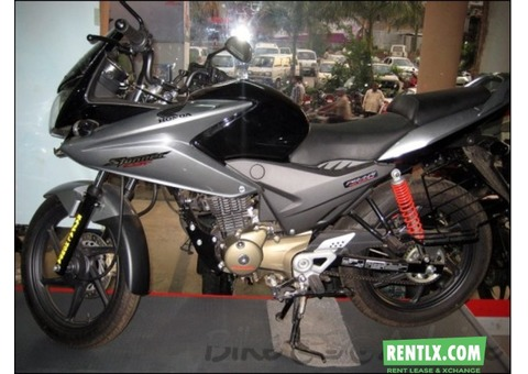 Bike with rider available on rent