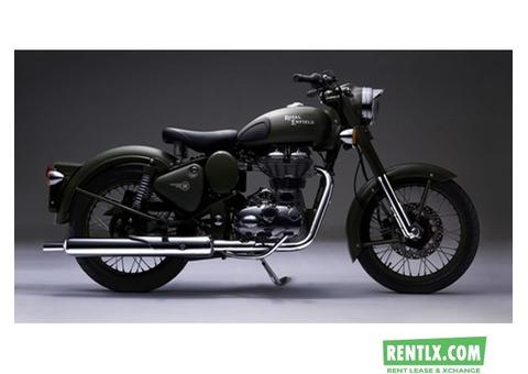 Royal Enfield 350cc bike on Rent