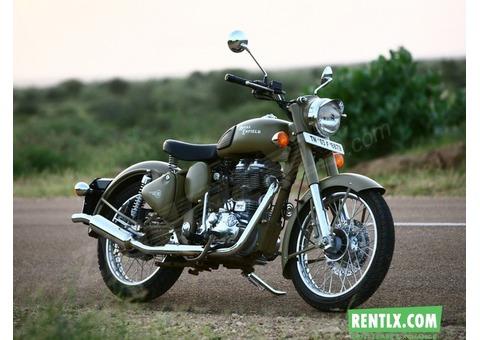 Royal Enfield 500cc bike on Rent