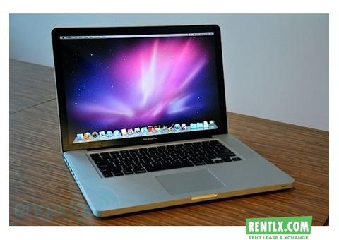 Mac book pro on rent