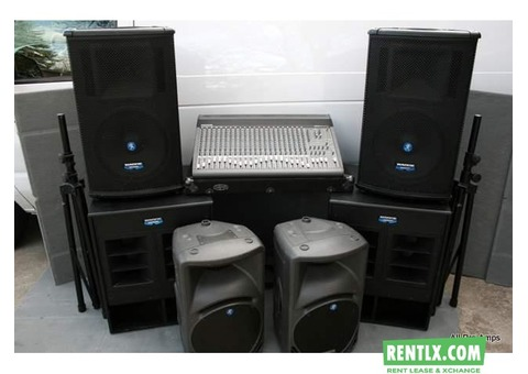 Sound systems on rent