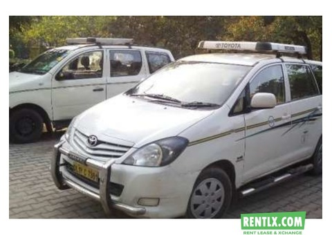 Toyota innova car hire in Gurgaon