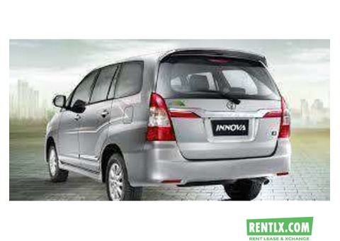Car hire tyota innova outstation. - Hyderabad