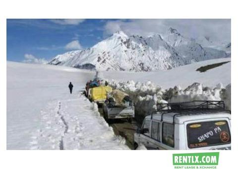 Kashmir car rentals service - Srinagar