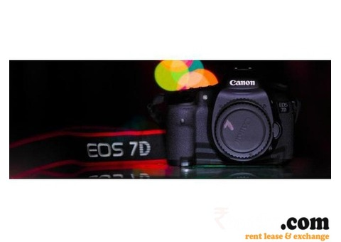 DSLR Cameras on Rent Delhi-NCR