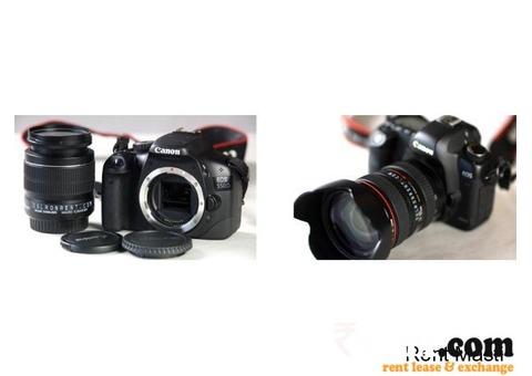 Cameras on Rent Delhi-NCR