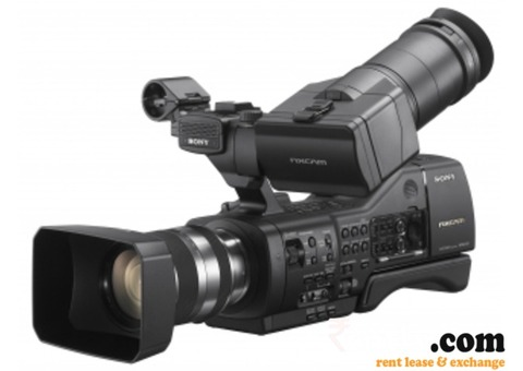We provide sony nx3 video camera on rent