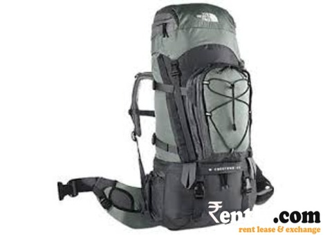 Backpack on rent in Bangalore