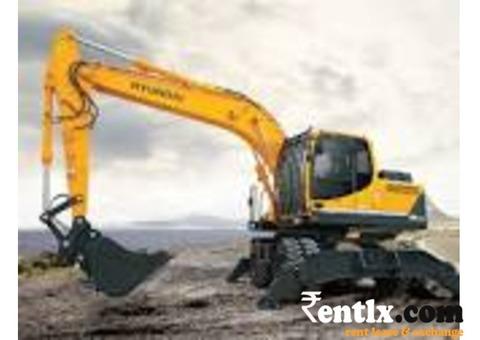 Hyundai 110 excavators for rent lease