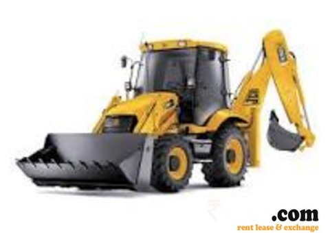JCB Backhoe loader available for rent or lease