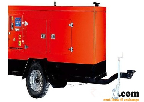 Mobile Diesel Generator set on Lease/Hire/Rent in Indore