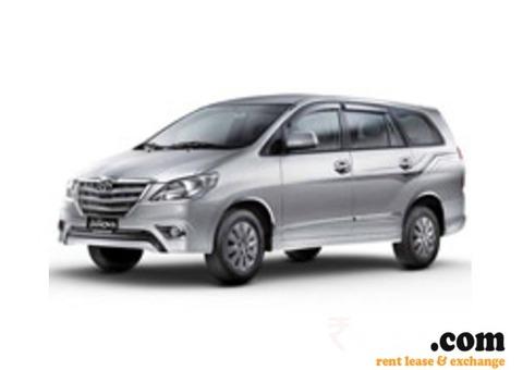 Toyota Innova Car on rent in Aundh Pune
