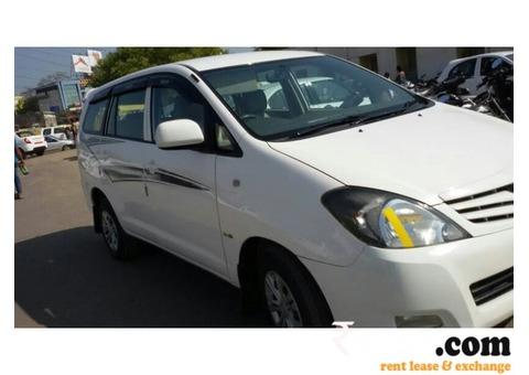 Toyota Innova on Rent in Ahmedabad
