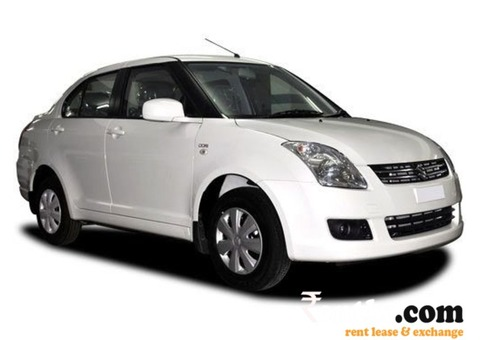 Shift Desire Car on Rent in Ahmedabd