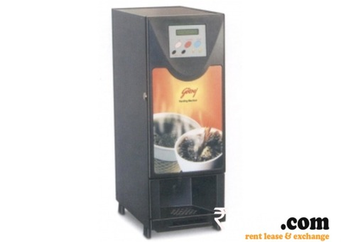 Coffee and Tea Vending Machine on Rent in Ahmedabad