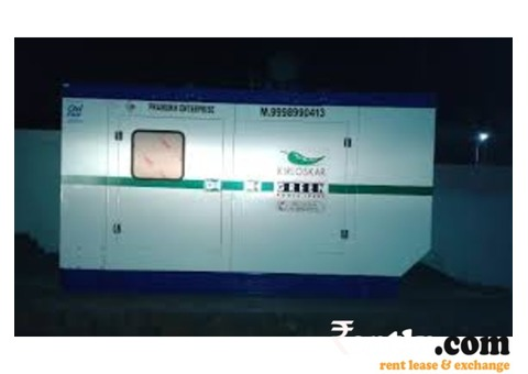 Generator (50-100 KVA) on Rent in Kolkata