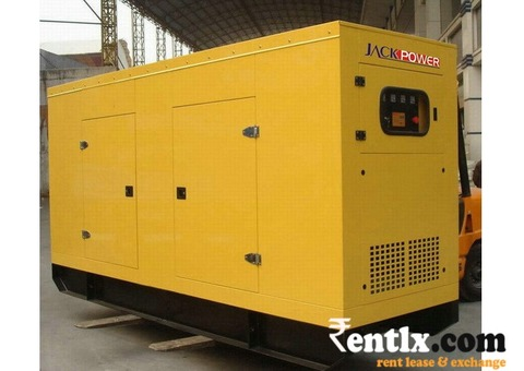 A New Diesel Silent generator on Rent in Pune
