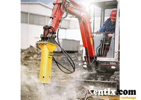 Hydraulic Breaker available on Rent in Pune