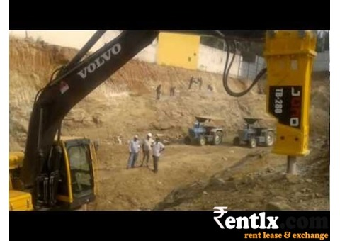 Rock Breaker on Rent in Chennai