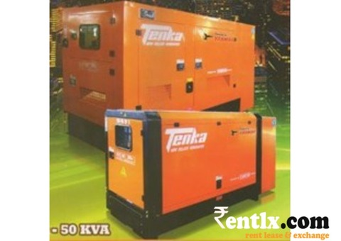 Generators (10-50 KVA) on Rent in Chandigarh