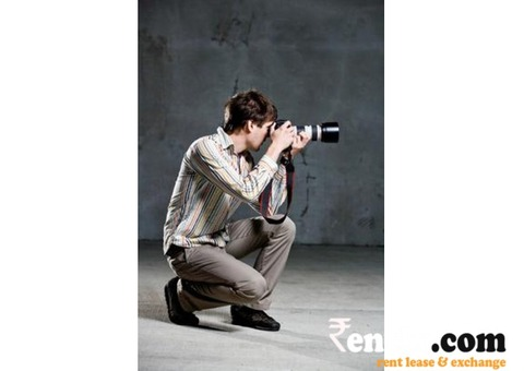 Professional Photographers on Rent in Hyderabad