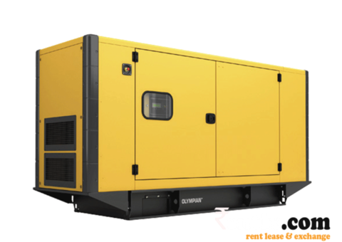 Diesel Generator on Rent in Hyderabad