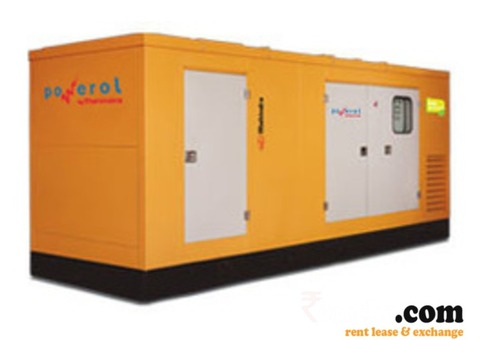 Generator on Rent in Hyderabad