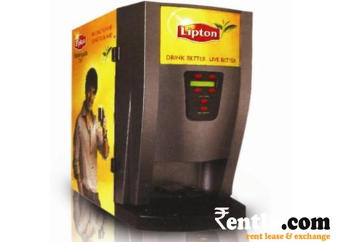 Coffee and Tea Vending Machine on Rent in Hyderabad
