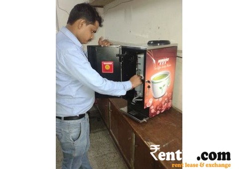 Tea Coffee Machine on Rent in Coimbatore