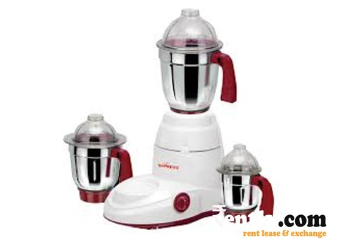 Mixer Cum Grinder on Rent in Bangalore