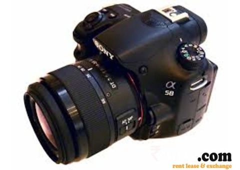 Sony DSLR Camera on Rent in Raipur