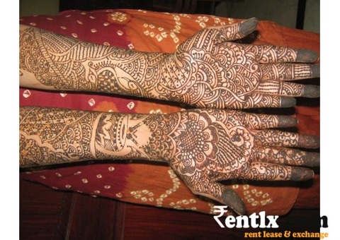 Bridal Mehendi at your door steps
