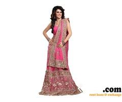 Designer Bridal dress on rent in chennai