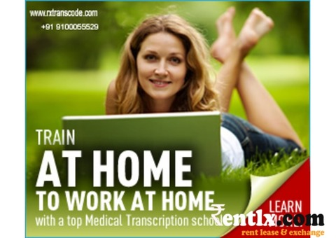 Online Medical Transcription Training with Job