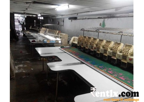 Embroidery machines on rent in Surat