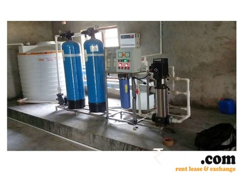 Industrial RO Plant/chiller/water pouch machine/jar/camper is one door For rent.