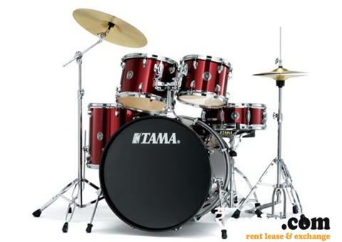 Tama drumkit with zildjian cymbals for rent in Jaiipur