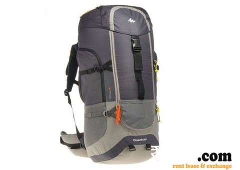 Quechua forclaz 70l backpack & raincover on Rent in Delhi