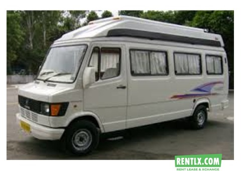 Tempo traveller for rent in Bengaluru