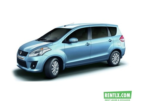 Ertiga for rent in Chandigarh