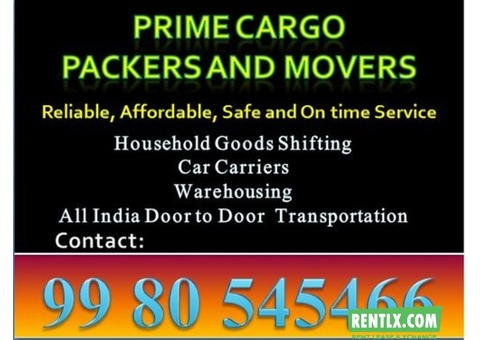 packers & movers Prime Cargo jaipur