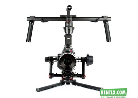 Dji ronin available for rent in Ahmedabad