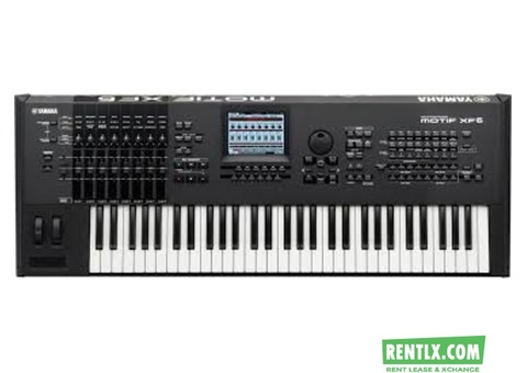 Yamaha Motif XF-6 On Rent