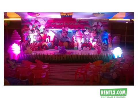 Birthday Party Flower Decorators for Rent in Hyderabad