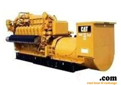 CAT generators on rent in India