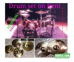 Tama Drum set on rent in Mumbai