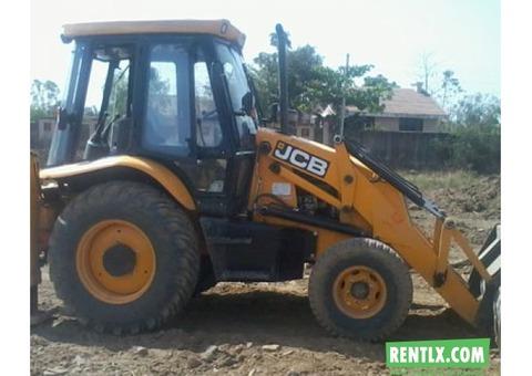 Backhoe loader JCB 3DX for rent in Gurgaon