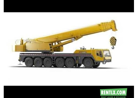 Cranes & Forklifts available for hire Basis in Bangalore